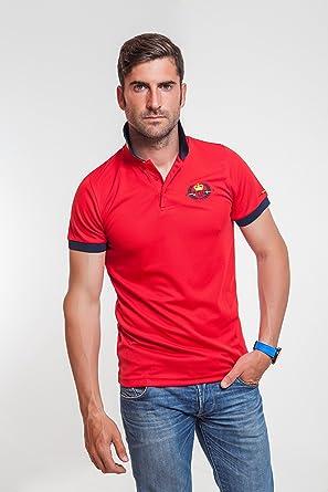 TH Hottime - Polo técnico, talla m, color rojo: Amazon.es: Ropa y ...