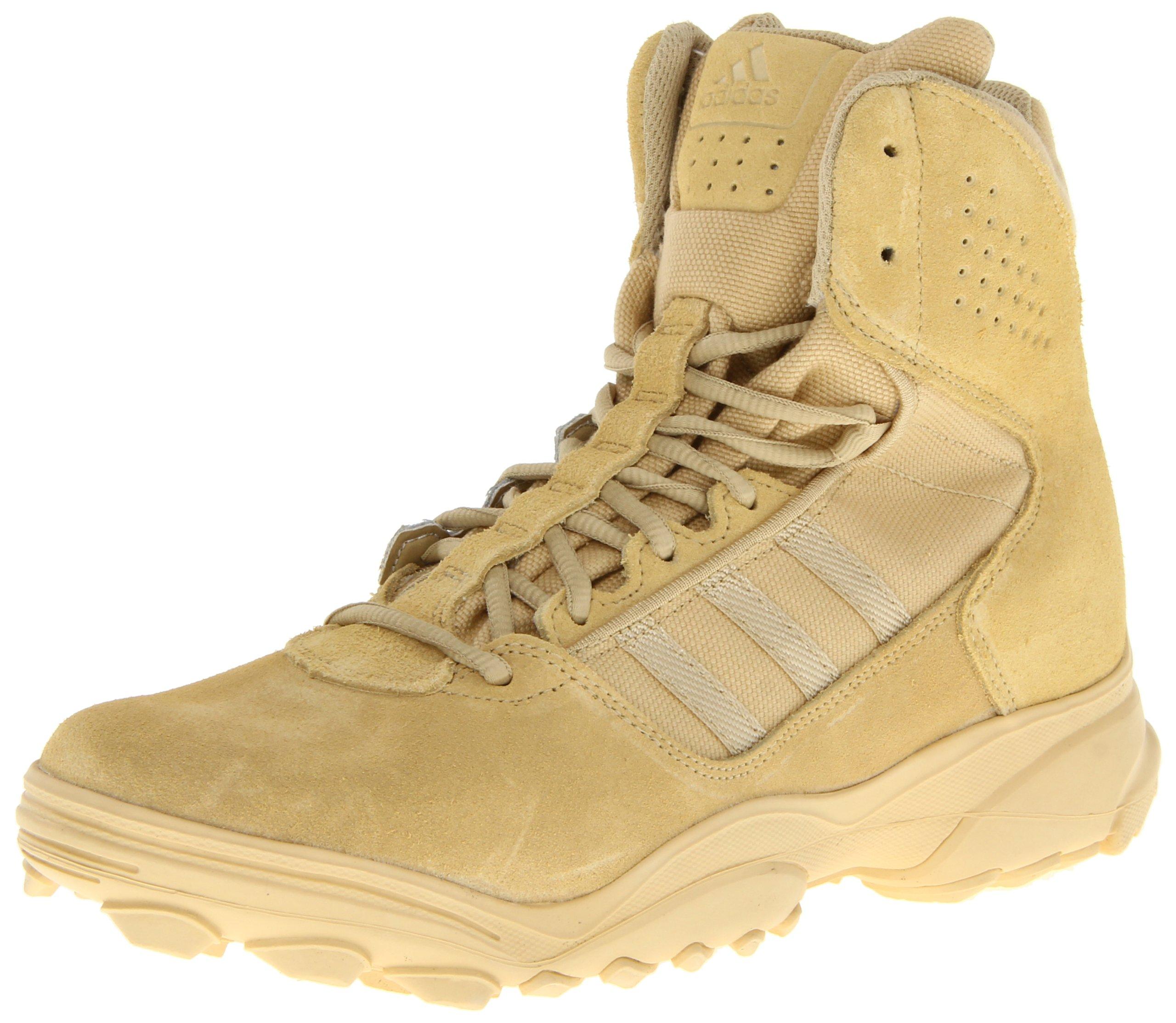 adidas Performance Men's GSG-9.3 Tactical Boot,Hemp Brown/Hemp Brown/Hemp Brown,5 M US