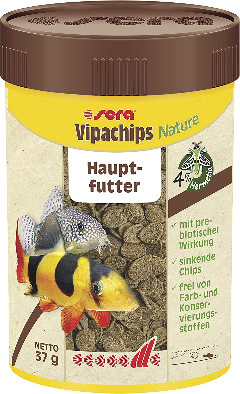 Sera vipachips 1 Can Fish Food, 1.3 oz/100 ml