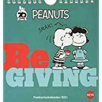 Peanuts Postkartenkalender 2021