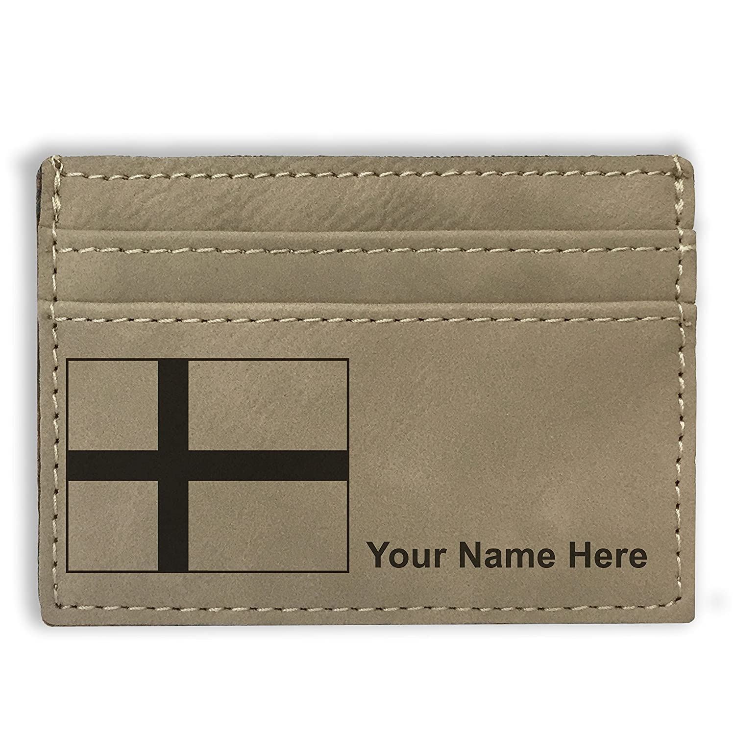 Flag of Denmark Money Clip Wallet Personalized Engraving Included