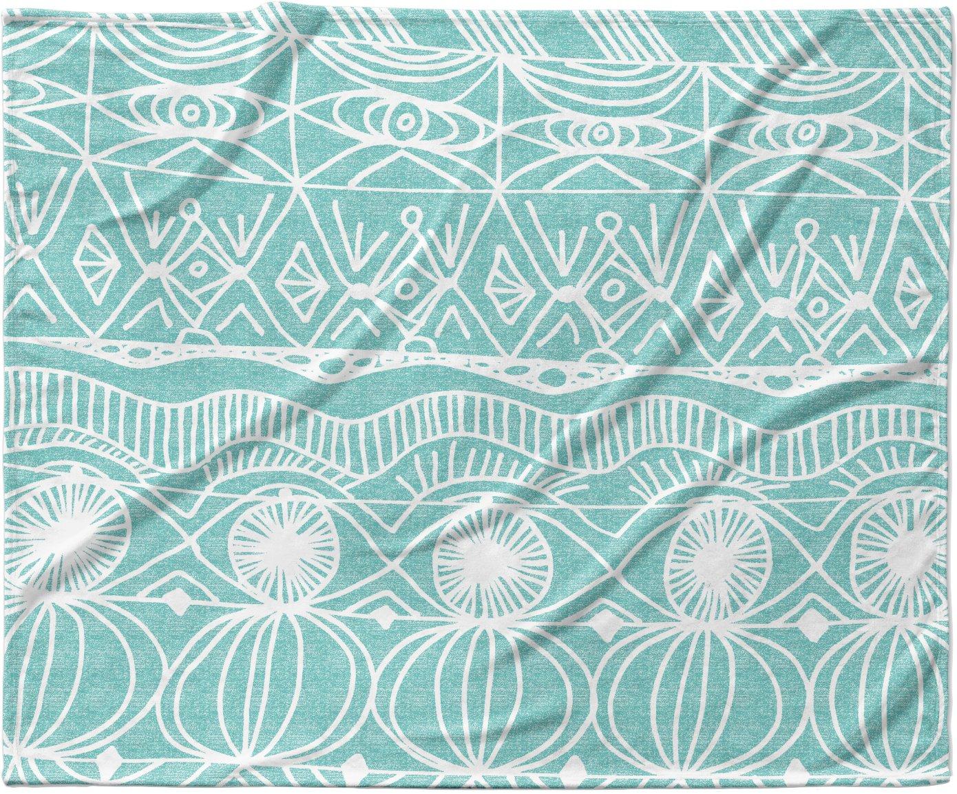 KESS InHouse Catherine Holcombe ''Beach Bingo'' Fleece Baby Blanket, 40'' x 30'' by Kess InHouse