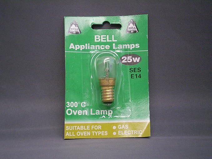 SEL # 70 - 25 W E14 SES para horno lámpara 300 °C. Apto para todos ...
