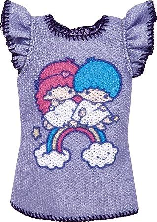 Barbie Moda Hello Kitty Lavendar Camisa: Amazon.es: Juguetes y juegos