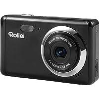 Rollei Compactline 83 Fotocamera Digitale Piccola, 8 Megapixel, Funzione Panorama, Funzione Video HD, Nero