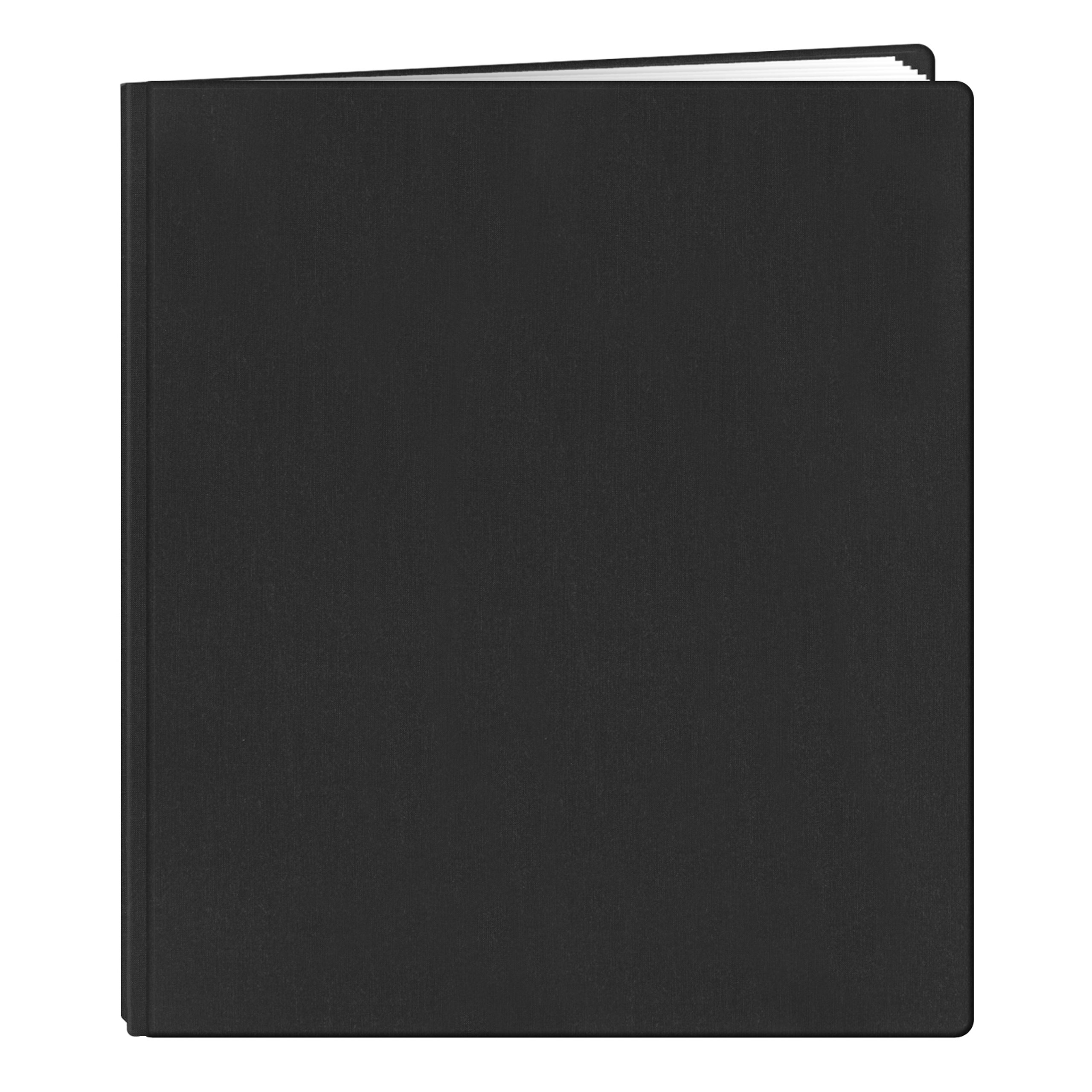 Pioneer FTM15BK Family Treasures Deluxe 12-by-15-Inch Memory Book with Fabric Cover, Black