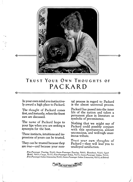 Amazon.com   1923 Packard Original Magazine Ad-Prices Range from  2 ... e1ca57794f