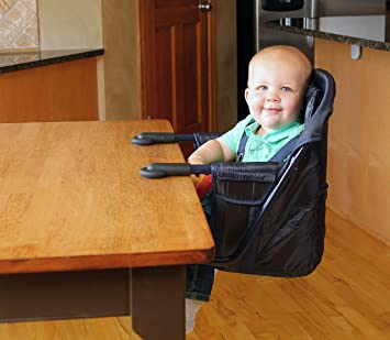 Charmant Amazon.com : Regalo Easy Diner Portable Hook On Highchair, Navy : Table Hook  On Booster Seats : Baby