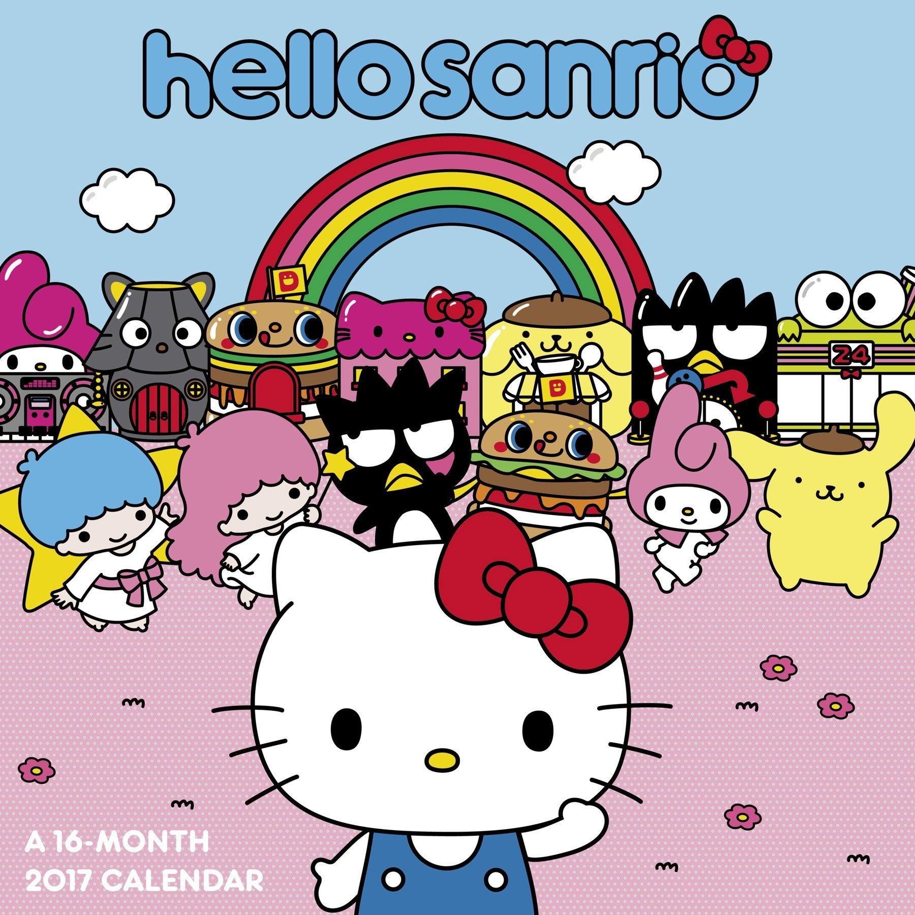 Download Hello Kitty Wall Calendar (2017) pdf epub