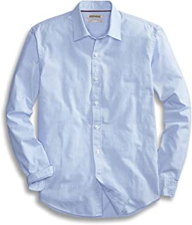 Homme Goodthreads Standard-fit Long-sleeve Brushed Flannel Chemise Casual