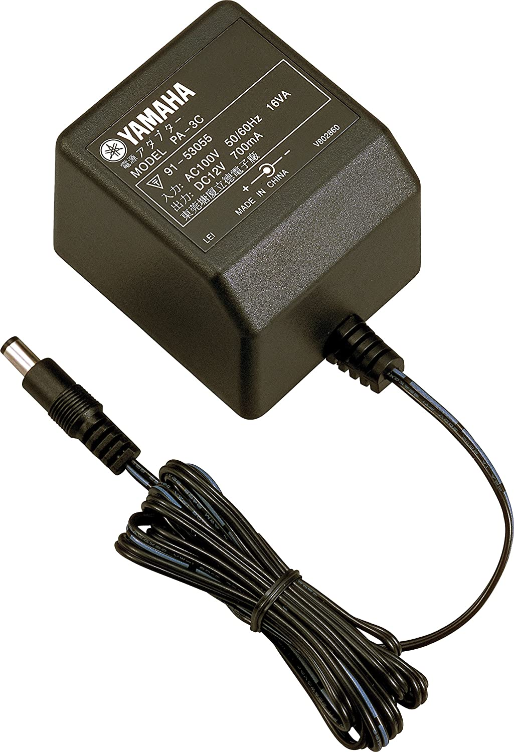 Genuine Yamaha AC Adapter Power Supply DC12V 700mA 12.5W Model: PA-3C 12V