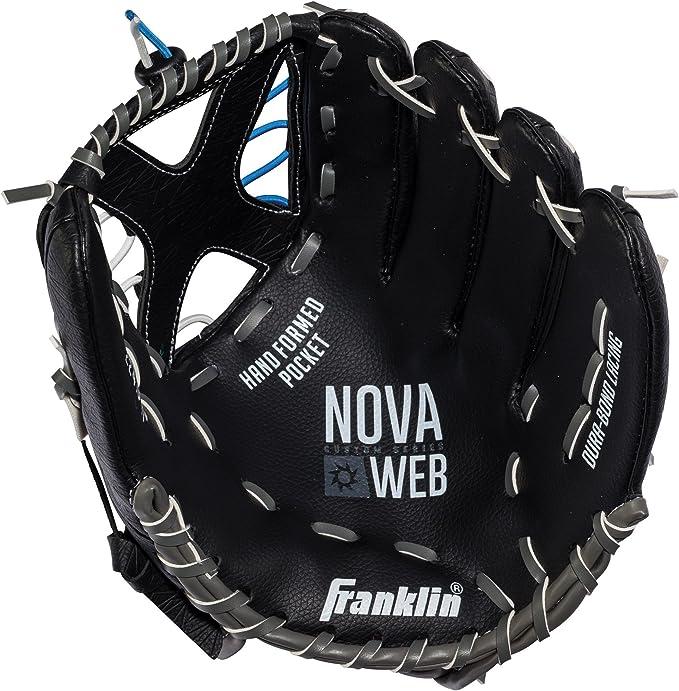 Custom Web Colors Franklin Nova Web Custom Series YOUTH Baseball Fielding Glove