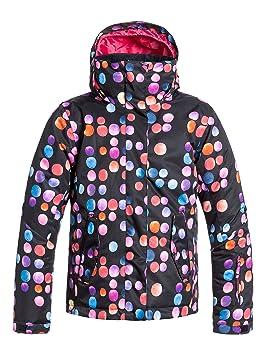 Roxy Jetty Girl - Chaqueta de nieve para niña, color negro, talla 14/XL: Roxy: Amazon.es: Deportes y aire libre