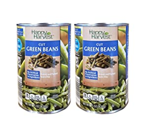 Happy Harvest Cut Fresh Picked Natural Canned Green Beans - 2 Cans (15 oz)