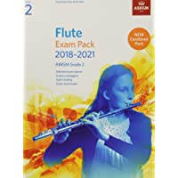 Flute Exam Pack 2018-2021, ABRSM Grade 2: Selected from the 2018-2021 syllabus. Score & Part, Audio Downloads, Scales & Sight-Reading (ABRSM Exam Pieces)