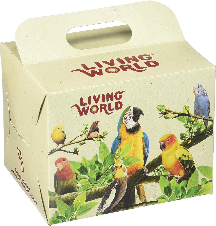LIVING WORLD - Caja de cartón para pájaros