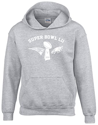 Super Bowl Final 2018 Hoodie Mens Sport Grey  Amazon.co.uk  Clothing 1666be746