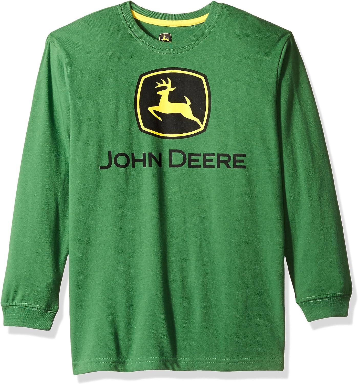 John Deere Kids Boys Trademark Short Sleeve Tee