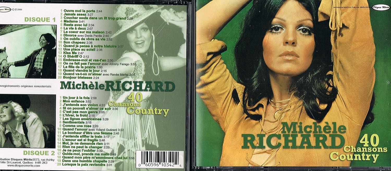 40 Chansons Country Michele Richard DDM Francais