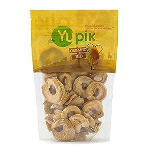 Yupik Organic Dried Soft Apple Rings, 1 Lb