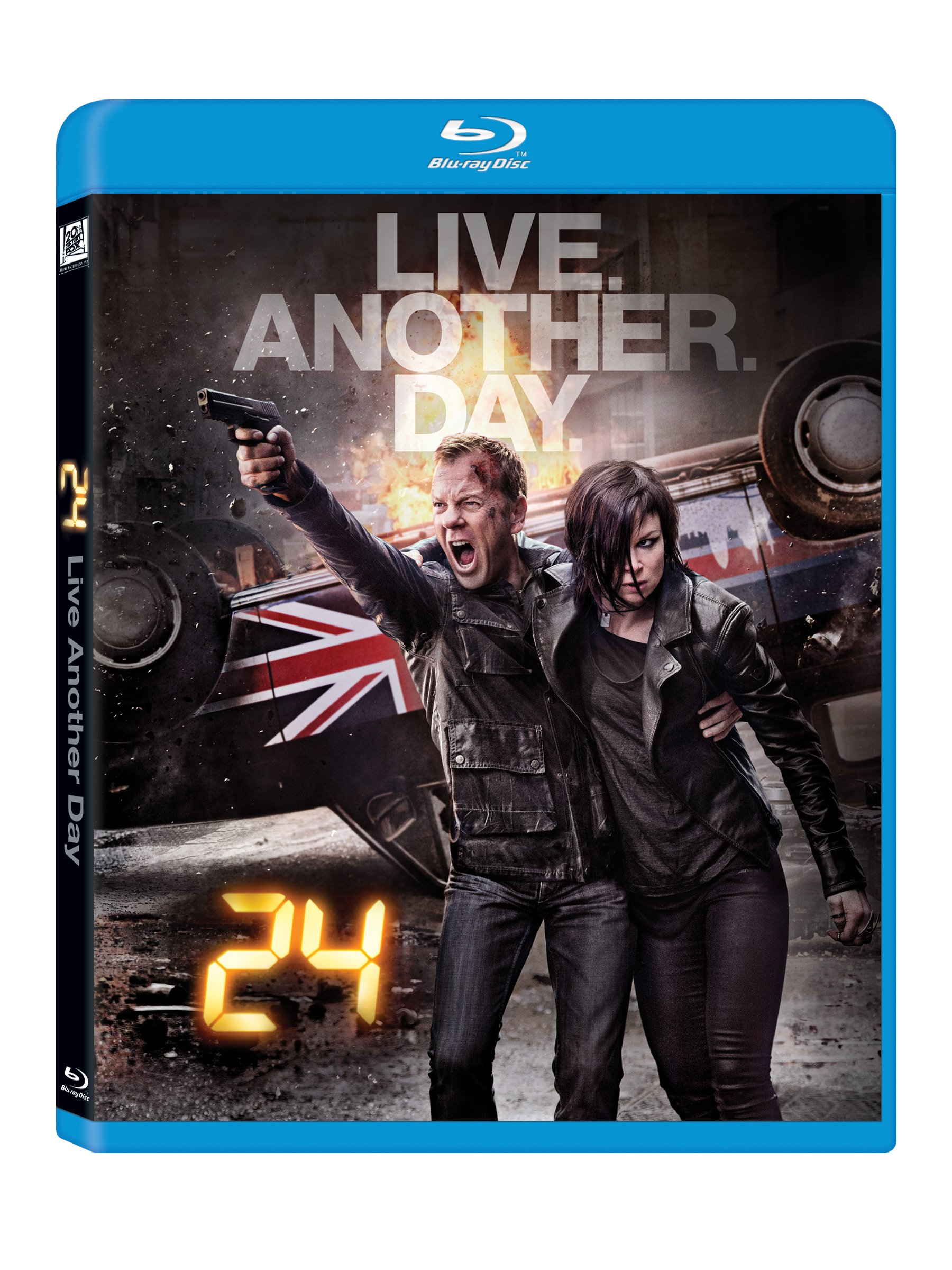 Blu-ray : 24: Live Another Day (, Widescreen, Digital Theater System, AC-3, 3 Pack)
