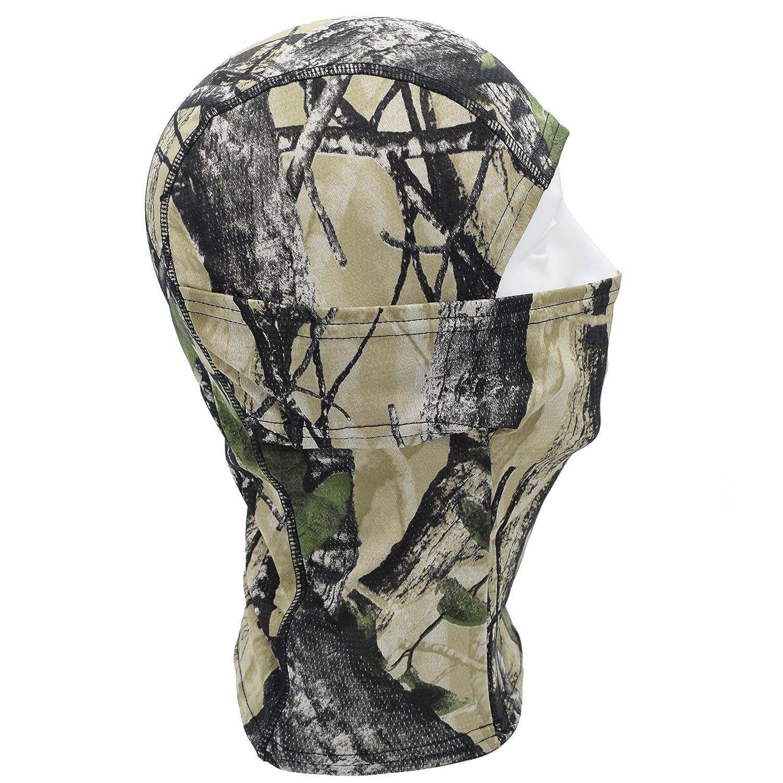 TClian Camouflage Balaclava Full Face mask Ninja hood Millitary Camo Bionic