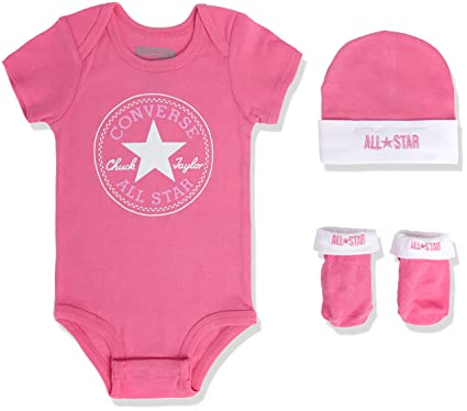 98799cebc Image Unavailable. Image not available for. Colour: Converse Baby Girls'  Clothing Set