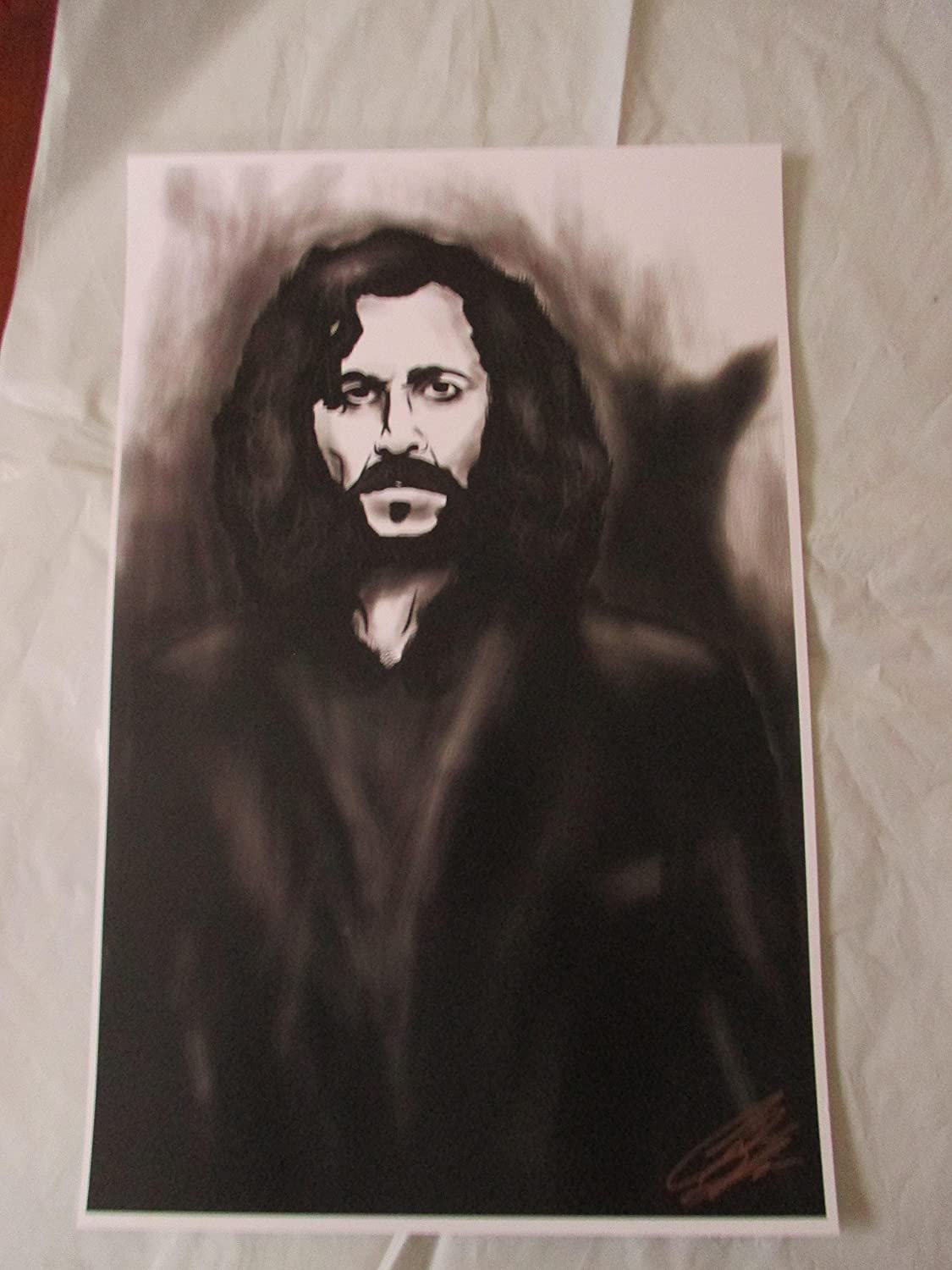 SIRIUS BLACK FROM HARRY POTTER! 11' By 17' Limited Edition Print Signed By Chris Huffman, W/coa SIRIUS BLACK FROM HARRY POTTER! 11 By 17 Limited Edition Print Signed By Chris Huffman