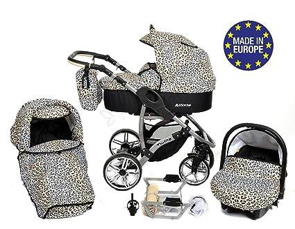 Allivio - Sistema de viaje 3 en 1, silla de paseo, carrito con capazo