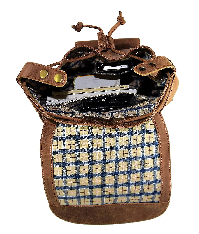 sac /à dos Delta sac /à dos en cuir sac /à dos de vi 9120013579698 MENZO accessoires en cuir /«/Meran//» de buffle vintage