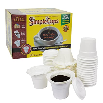 amazon com disposable cups for use in keurig brewers simple cups