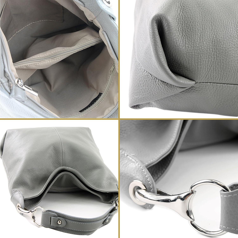 modamoda de – T168 – ital axel/axelväska av läder senapsgul