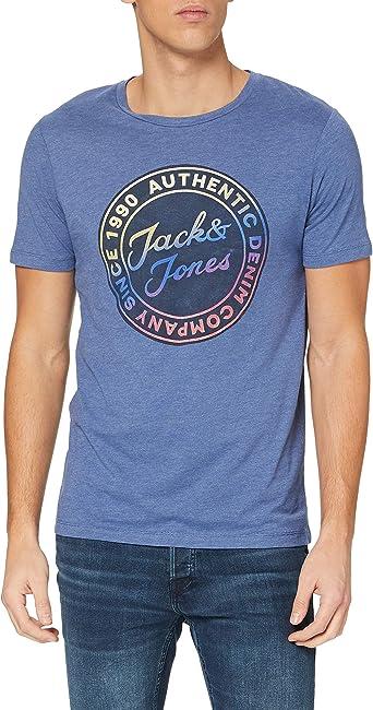 TALLA M. Jack & Jones Jjgrand tee SS Crew Neck Camiseta para Hombre