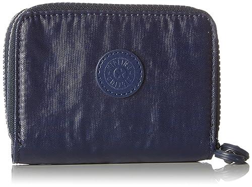 Kipling - Abra, Carteras Mujer, Blau (Lacquer Indigo), 12.5x9x3 cm