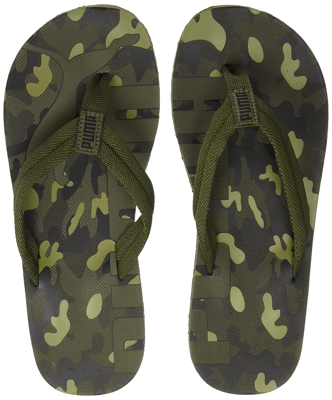 58667ee80dd17 Puma Adults  Epic Flip V2 Camo Flops  Amazon.co.uk  Shoes   Bags
