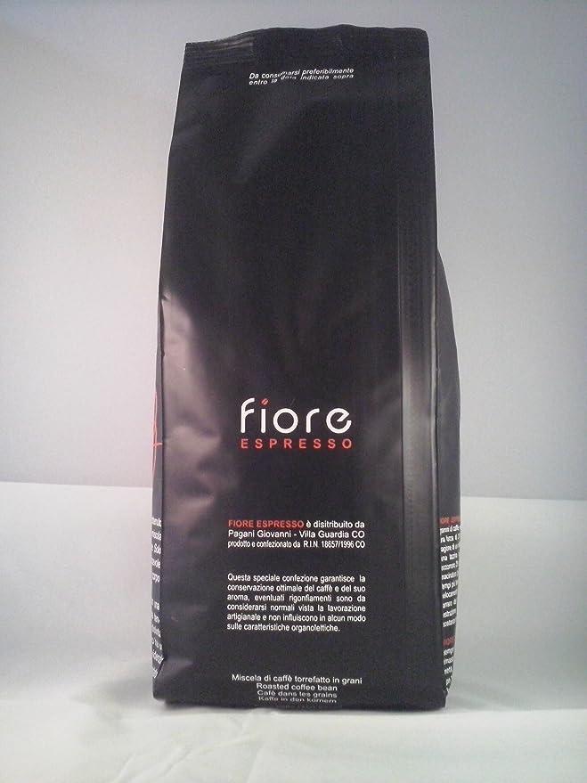 Café Artesanal Italiano De Granos Fiore Espresso 1000 gr. Mezcla ...