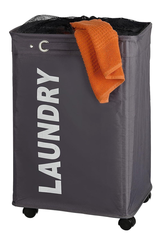 WENKO Quadro Laundry Bin Beige 3450110100
