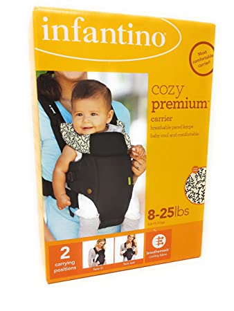cdb2b826572 Amazon.com   Infantino Cozy Premium Baby Carrier  Size 8 - 25 Pounds   Child  Carrier Front Packs   Baby