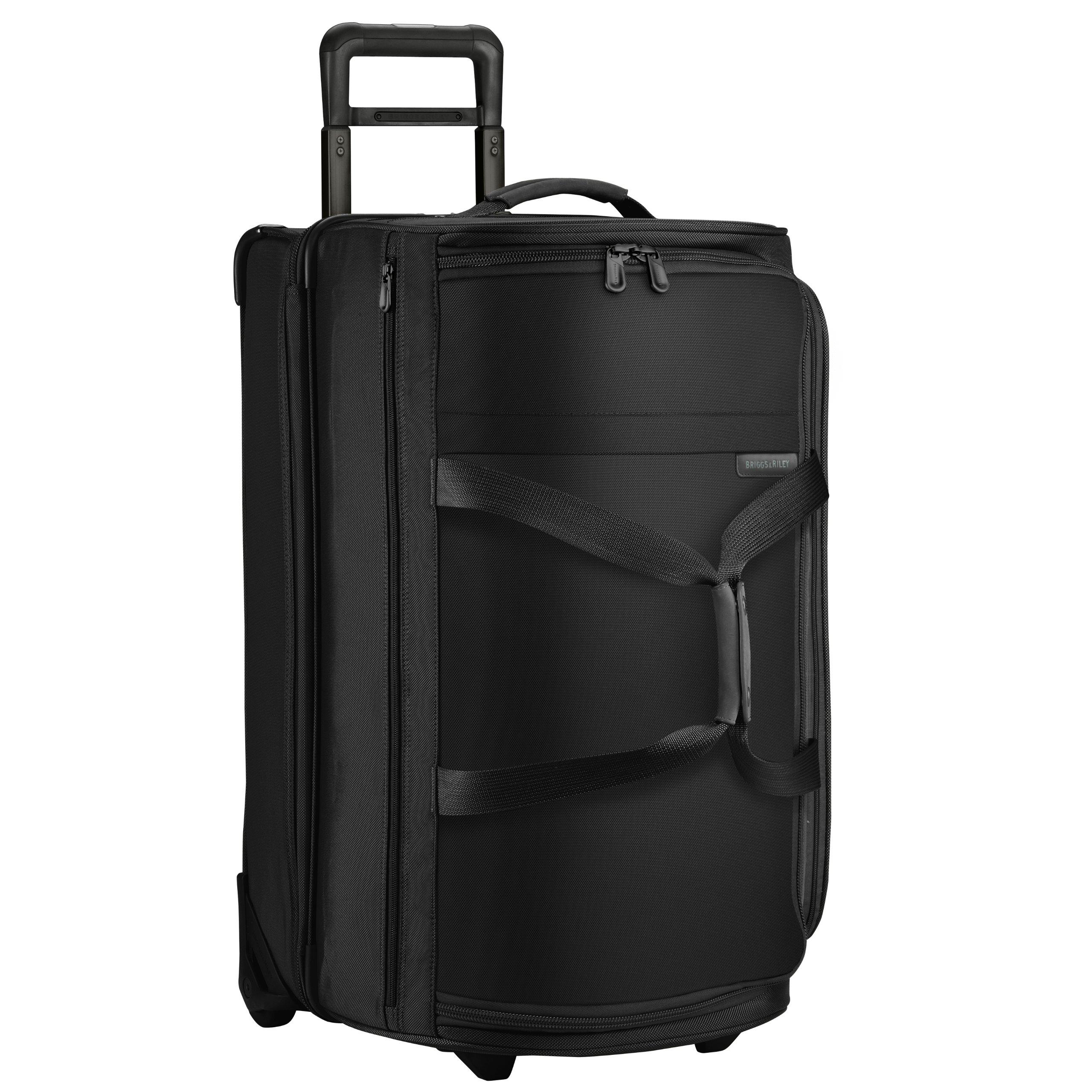 Briggs & Riley Baseline Upright Duffle Bag, Black, Medium