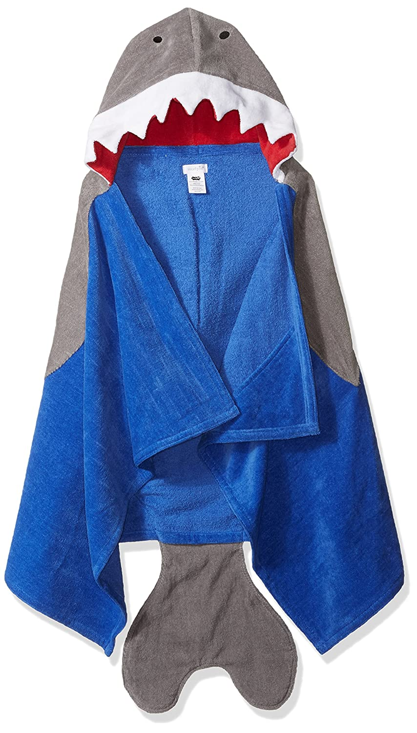 Mud Pie Baby Hooded Bath Towel Boy