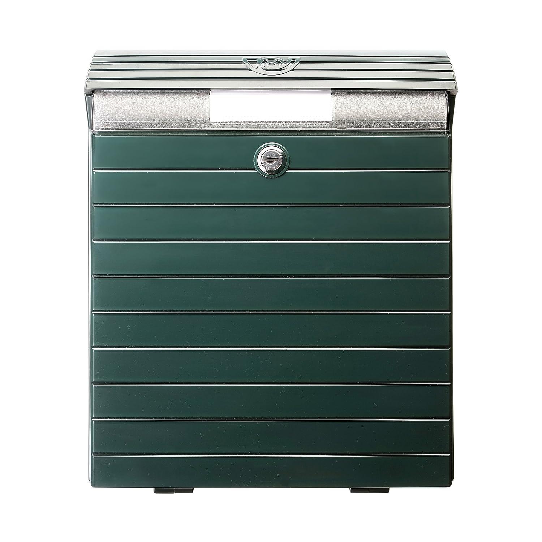 30,5 x 12,8 x 38,8 cm Tatay 0043004 Buz/ón Grande de Exterior de Gran Resistencia y Durabilidad pl/ástico abs Verde
