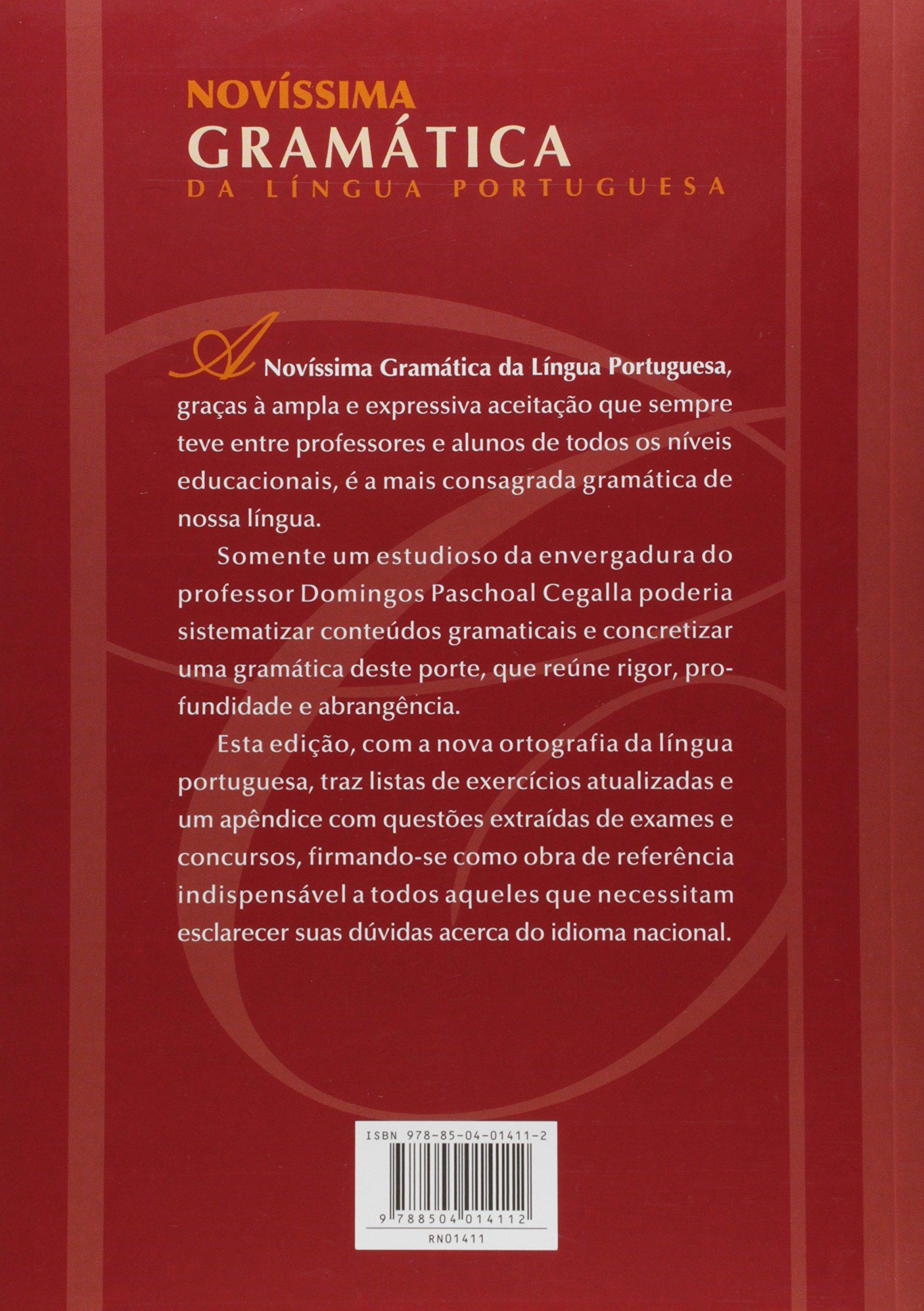 Livro: gramatica escolar da lingua portuguesa ensino médio.