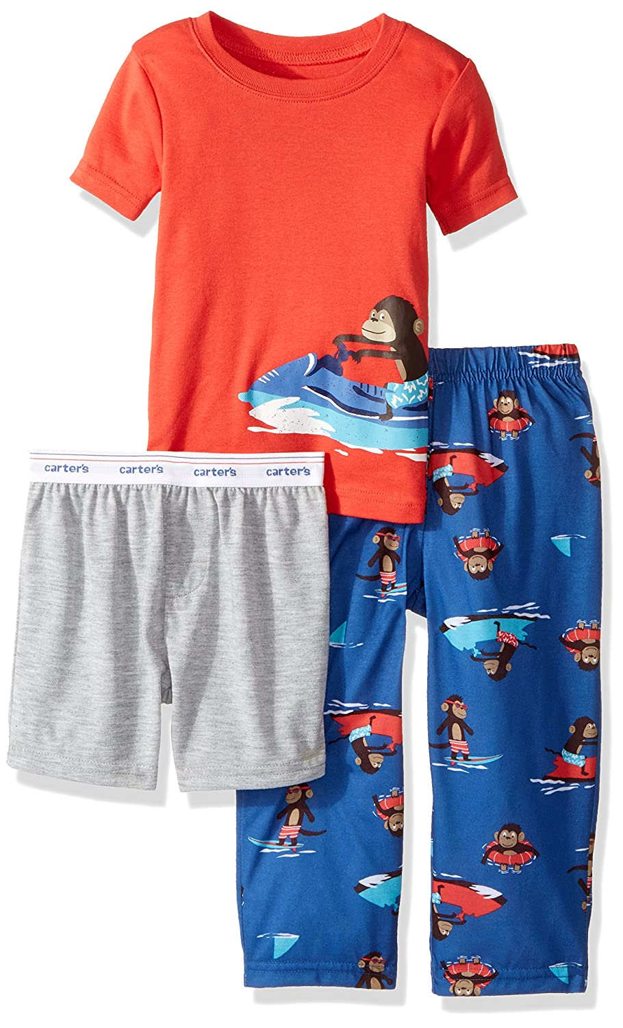 8dea8378d Amazon.com  Carter s Little Boys  3-Piece Pajama Set  Clothing