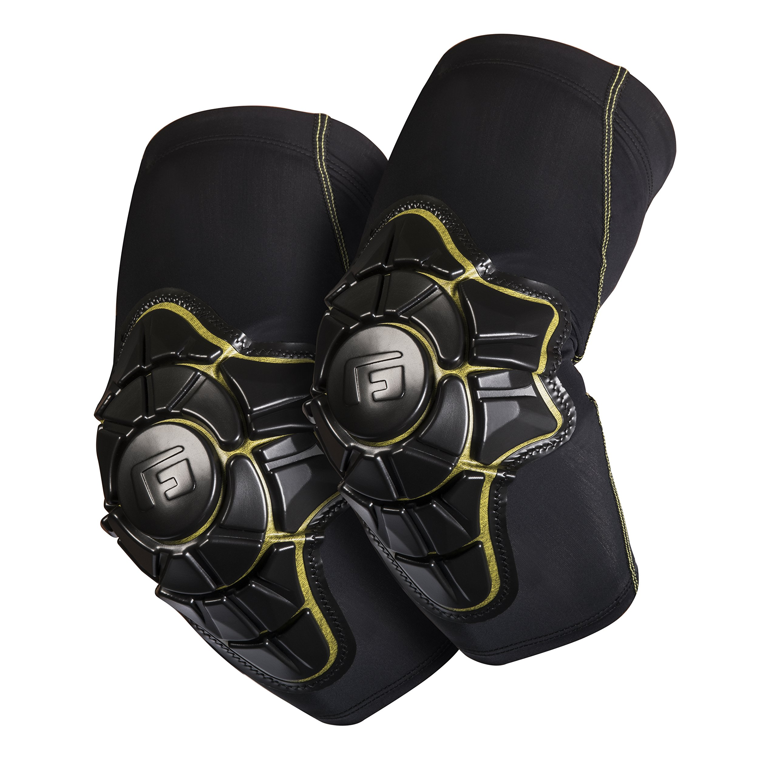 G-Form Youth Pro-X Elbow Pad, Black/Yellow, Large/X-Large