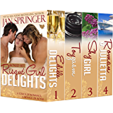 Risqué Girl Delights Boxed Set: Four Book Box Set ~ includes Erotic Romance Menages, Romance with Menage, Romance with Suspense (Jan Springer Boxed Sets 6)