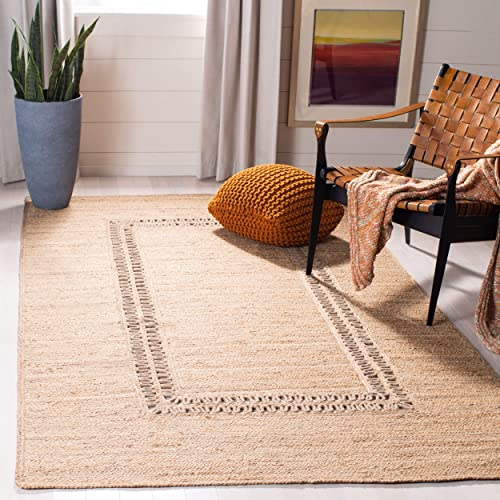 Safavieh Natural Fiber Collection NF374B Hand-woven Jute Area Rug