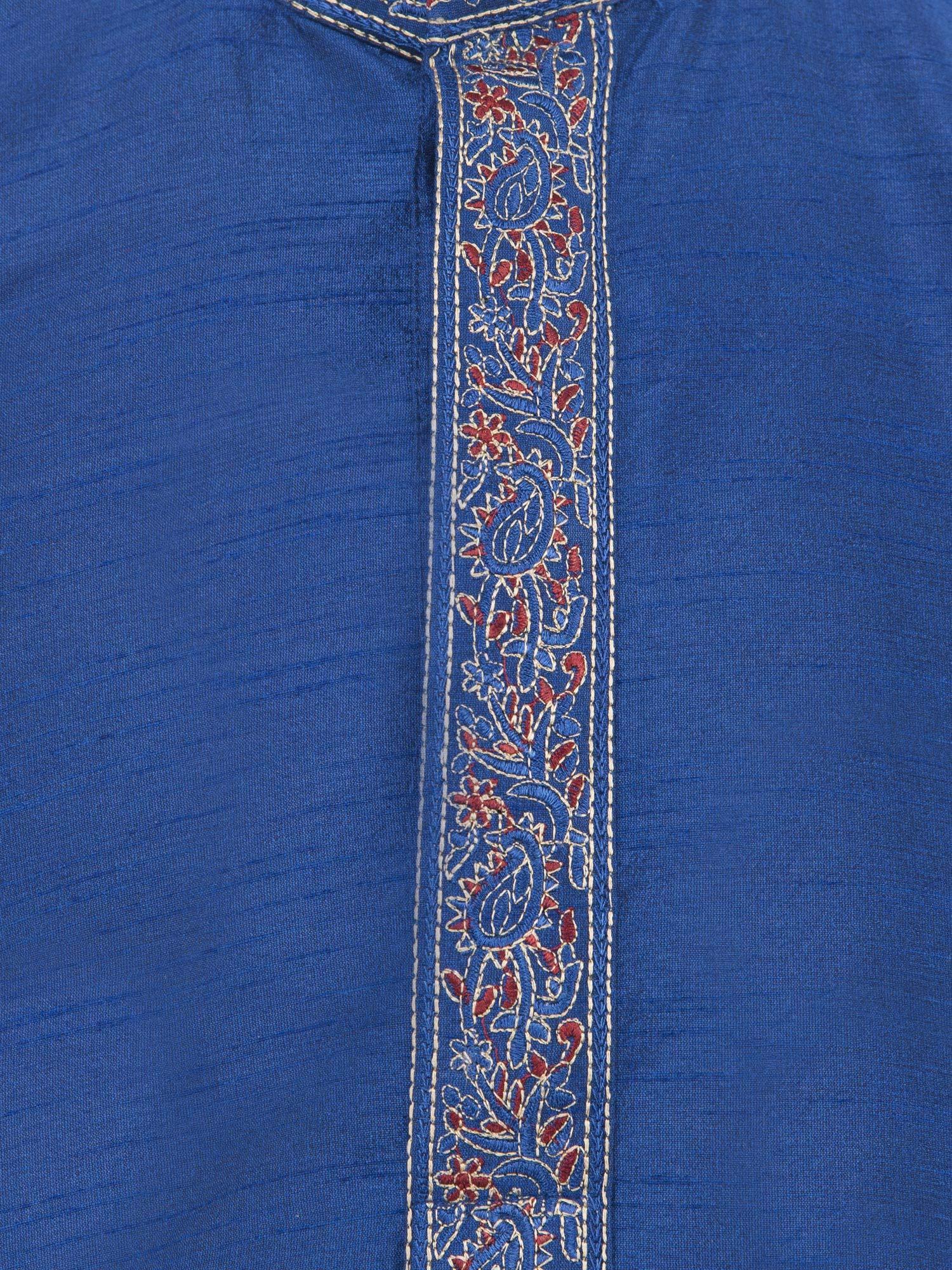 Indian Long Sleeve Kurta Pajama Dress Men Salwar Kameez Party and Wedding Wear -XL by SKAVIJ (Image #8)