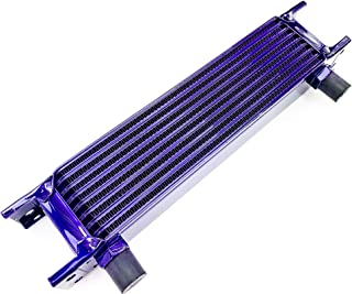 product image for Speedline'z Motorsports 9 Row High Performance Oil Cooler With 8AN Fitment For Auto, Truck, Motorcycle, UTV, Side by Side and ATV's. High Performance Candy Purple Powder Coated, 24 Month Warranty