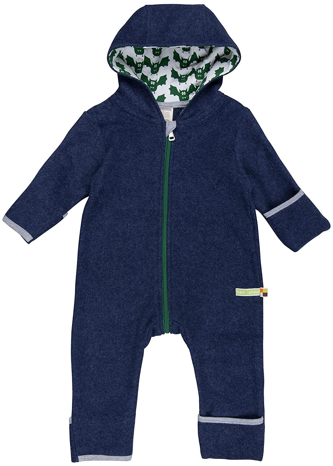 loud + proud Baby Overall Fleece Snowsuit 560