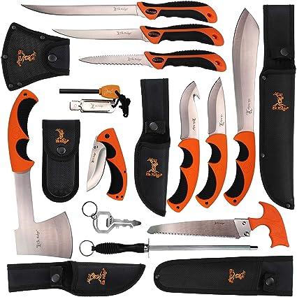 Amazon.com: Blade Factory - Juego de cuchillos de caza para ...